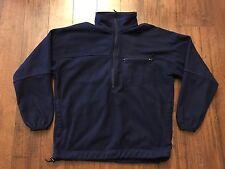 Vintage Nike ACG Half Zip Fleece Jacket Sz M 90s Swoosh Check Vtg Air Fit