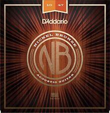 D'addario Nb1047 Corde per Chitarra Acoustica Extra leggere