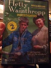 HETTY WAINTHROPP INVESTIGATES---DVD SET (SERIES 2)