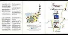 Schweden 1526/9 Folder Leuchttürme , Lighthouse , Leuchtturm
