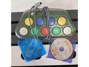 Konami Pop'n Music Controller. Sega Dreamcast. w/ Pop'n Music 1&2. Import. Works