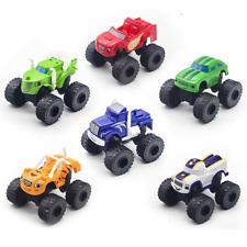 6pcs Blaze Monster Racing Car Miracle Crusher Truck Toys Vehicle Car