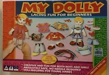 My Dolly Paper Dolls Lacing Fun For Beginners Creative Toys