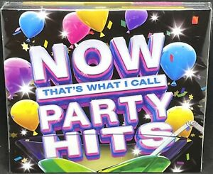 NOW THAT'S WHAT I CALL PARTY HITS - VARIOUS, TRIPLE CD ALBUM, (2016).NEW /SEALED