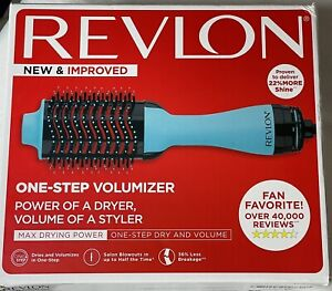Revlon One-Step Hair Dryer & Volumizer Hot Air Brush Mint