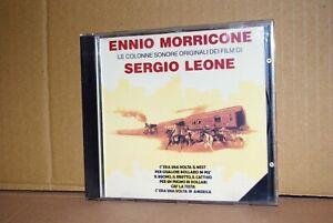 ENNIO MORRICONE COLONNE SONORE SERGIO LEONE CD BMG RCA 1989