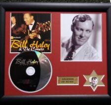 Bill Haley  Genuine CD, Autograph & Plectrum Presentation