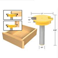 Rail Stile Router Bits für die Herstellung von Schubladen Fronten