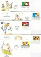 RECREATIONAL SPORTS #2961-65 SET OF 5 JUPITER, FL MAY 20, 1995 FW
