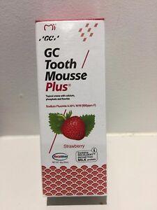 GC Tooth Mousse Plus: Long expiry, Mint/Strawberry/Vanilla