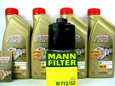 4liter Castrol Edge Titanium FST 5W-30 Ll 5W30 Aceite de Motor+Filtro Mann