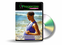 Pregercize Pregnancy & Post Natal exercise workout DVD fitness meditation baby
