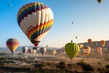 Hot Air Balloon Ballooning Environment Nature Landscape HD POSTER