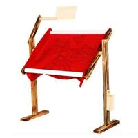 Hot Needlework Stand Lap Table Wood Embroidery Hoop Frame Cross Stitch Sewing