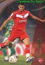 120 LUIGI PIERONI BELGIQUE VALENCIENNES.FC CARD CARTE FOOT 2009  PANINI
