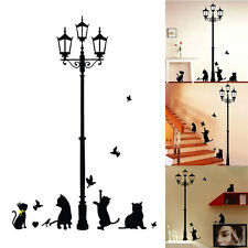 Hot Decorate Cat Animal Wall Sticker For Children's Room Walls Decor Painted