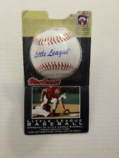 MacGregor Little League 9 Inch, 5 oz Synthetic Leather Cover Baseball New