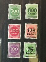 German Stamps -- Germany 1923