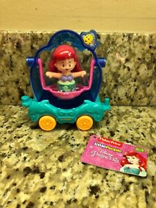 Fisher Price Little People Disney Ariel and Vehicle