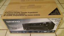 BRAND NEW W WARRANTY Onkyo TX-NR777 7.2 Ch Network AV Receiver 7 HDMI WiFi