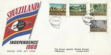 HH4361 Mbabane 6 Sept 1968 cancel on Independence stamps First Day Cover