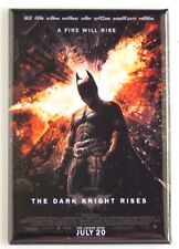 The Dark Knight Rises FRIDGE MAGNET (2 x 3 inches) movie poster batman