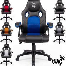 Gaming Stuhl Bürostuhl Schreibtischstuhl Drehstuhl Racing Chair Chefsessel 160kg