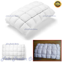 24 Pocket Pillow MicroFibre Bamboo Neck Support Hypoallergenic Anti Bacterial