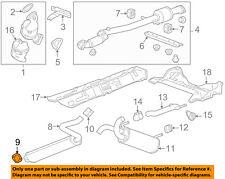 GM OEM Exhaust-Center Muffler Gasket 13229872