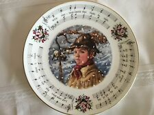 """Royal Doulton Decorative Plate """"While Shepherds Watched"""" 2Nd In Series Of 6"""