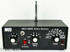 MFJ-1020C Active Antenna & Preamp For Ham Radio Communications Receiver