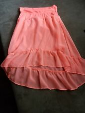 Faded Glory girls hot pink skirt size 6-6x