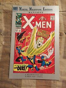 "Marvel Milestone Edition X-Men #28 ""Banshee"" [Marvel Comics, 1994]"