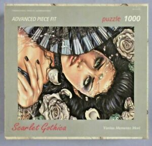 Art Stones Puzzle - Scarlet Gothica, Vanitas Memento Mori - 1000 Teile