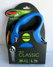 Flexi New Classic Large Retractable 26' Dog Tape Leash Blue