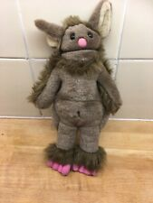 """The Troll From Billy Goats Gruff The Puppet Company 11"""" Soft Toy Hand Finger"""
