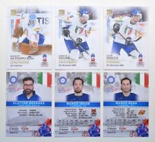 2019 BY cards IIHF World Championship Team Italy Pick a Player Card