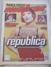 MELODY MAKER SEP 26 1998 - SPICE GIRLS SPACE REPUBLICA PRODIGY CORNELIUS THE ORB