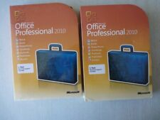 Microsoft Office 2010 Professional For 1 PC Full Retail NEW SEALED Box Version