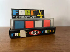 VINTAGE FACE 4 THE BRAIN TEASER PUZZLE BY IDEAL TOY PUZZLE 1980 RETRO
