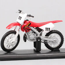 Diecast Toy dirt bike Maisto 1/18 Honda CR250R CR Motocross No.111 scale model