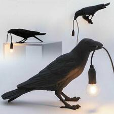 Seletti Bird Table Lamps Resin Crow Desk Lamp Bedroom Wall Sconce LED Light