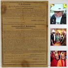 PRESIDENT JOHN ADAMS BROADSIDE 14 Jan. 1800 Proclamation GEORGE WASHINGTON DEATH