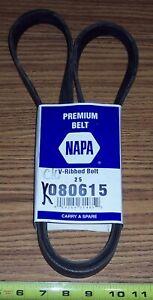 NAPA V-RIBBED BELT 080615 ~ GATES K080615