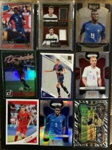 Soccer Card Lot Mbappe, Weah (RC), Neymar Jr, DeBruyne, World Cup Prizm, Jersey