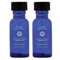 1 Pure Instinct 2-Pack True Blue Pheromone Infused Phermone For Women For Men