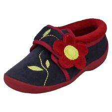 Clarks Leather Upper Medium Width Shoes for Girls Zip