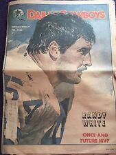 """ NFL Dallas Cowboys Official Weekly Magazine February,1983; Vol. 9, No.1"