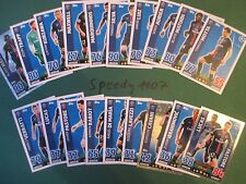 TOPPS Champions League 2015 16 all cards PSG PARIS COMPLETO COMPLETE