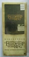 LORD OF THE RINGS:FELLOWSHIP OF THE RING 4-DVD EXTENDED EDITION IN ORIG BOX NEW